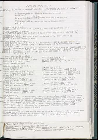 Bulletins (vnl. opstellingen) 1966-11-16