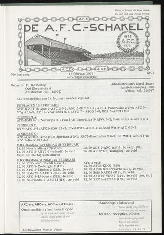 Schakels (clubbladen) 1976-02-18