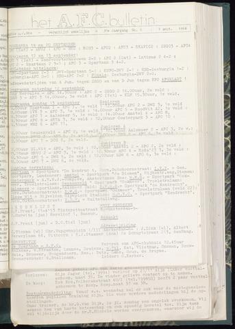 Bulletins (vnl. opstellingen) 1964-09-09