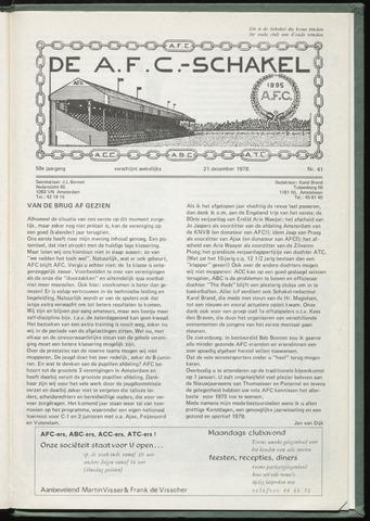 Schakels (clubbladen) 1978-12-20