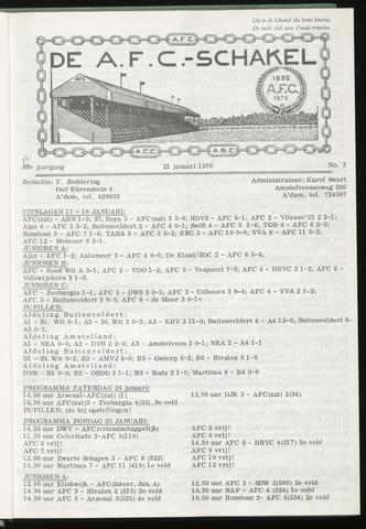 Schakels (clubbladen) 1976-01-21
