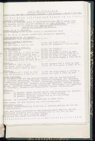 Bulletins (vnl. opstellingen) 1966-02-03