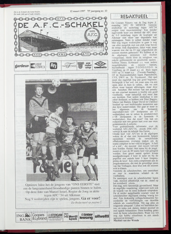 Schakels (clubbladen) 1997-03-12