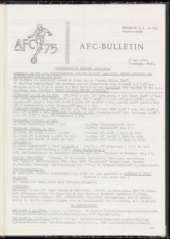 Bulletins (vnl. opstellingen) 1970-05-19