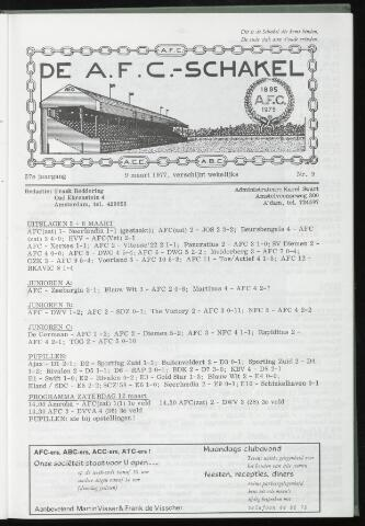 Schakels (clubbladen) 1977-03-09