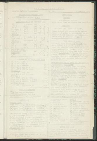 Bulletins (vnl. opstellingen) 1955-10-25