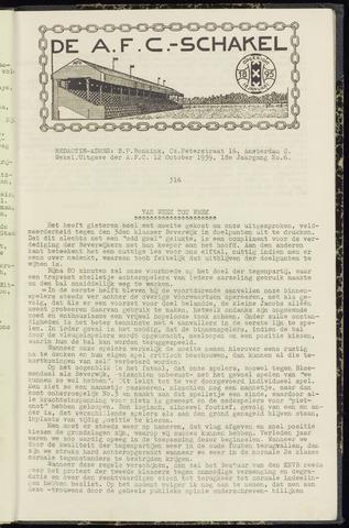 Schakels (clubbladen) 1939-10-12