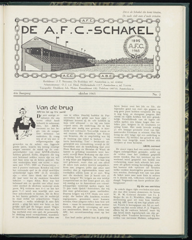 Schakels (clubbladen) 1965-10-01