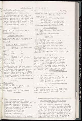 Bulletins (vnl. opstellingen) 1959-05-12