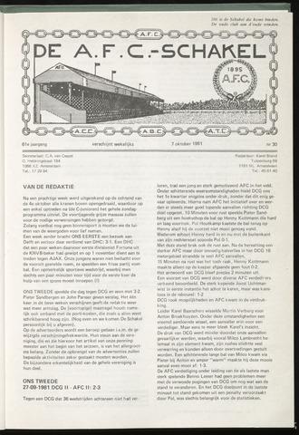 Schakels (clubbladen) 1981-10-07