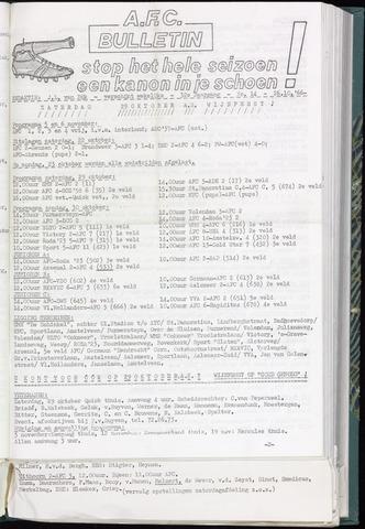 Bulletins (vnl. opstellingen) 1966-10-26