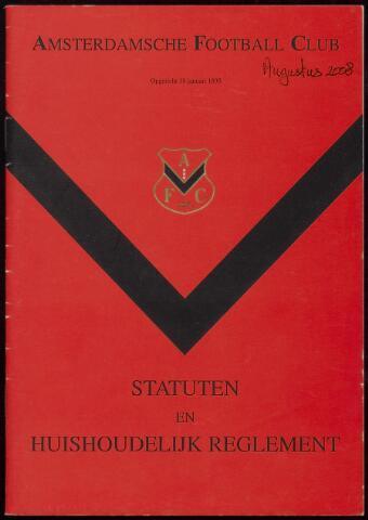 Statuten en reglementen 2008-08-01