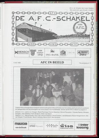Schakels (clubbladen) 1993-05-05