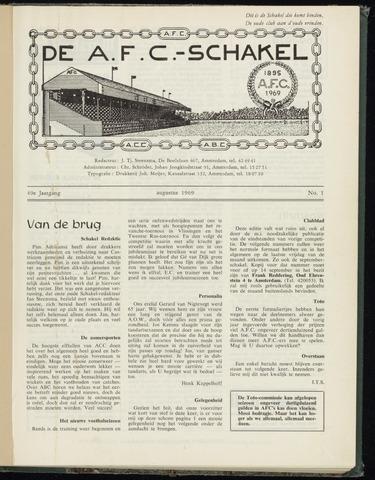 Schakels (clubbladen) 1969-08-01