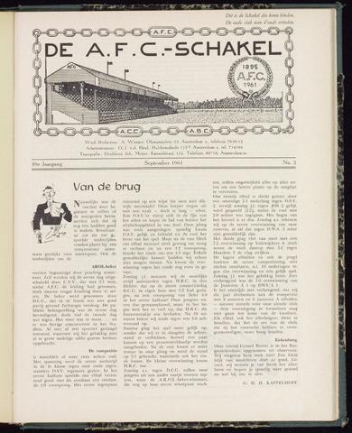 Schakels (clubbladen) 1961-09-01