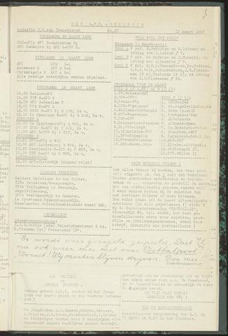 Bulletins (vnl. opstellingen) 1956-03-13