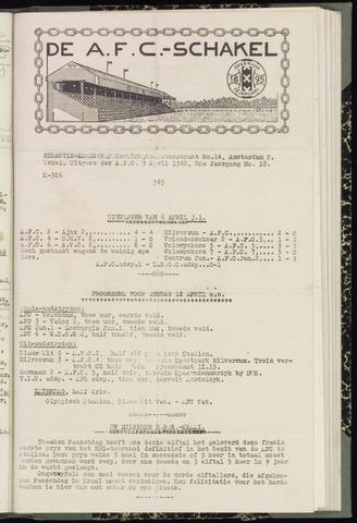 Schakels (clubbladen) 1942-04-09