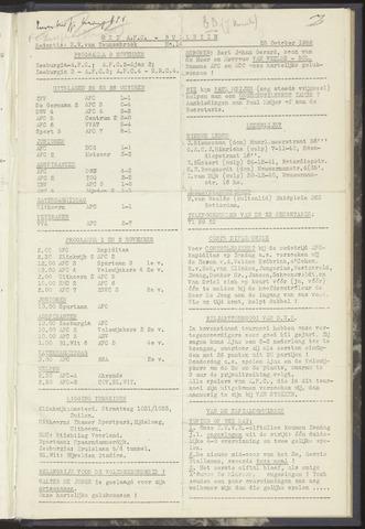 Bulletins (vnl. opstellingen) 1952-10-28
