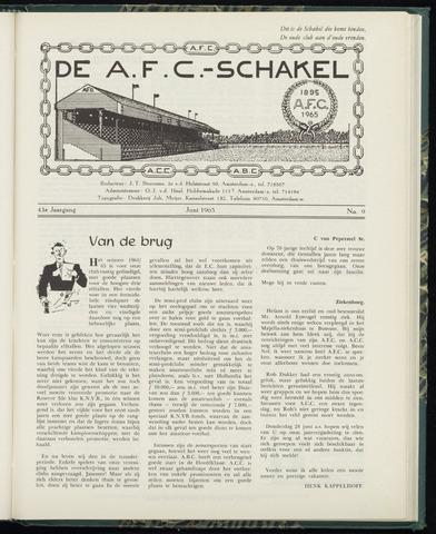 Schakels (clubbladen) 1965-06-01