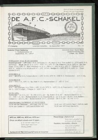 Schakels (clubbladen) 1977-12-14