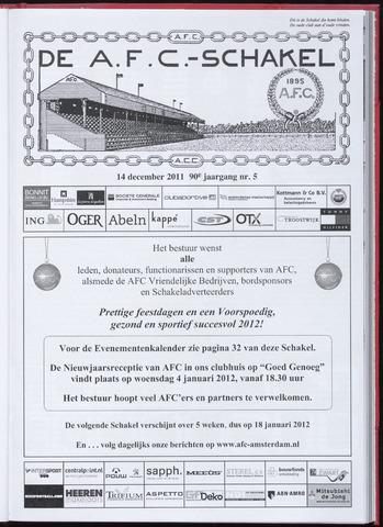 Schakels (clubbladen) 2011-12-14