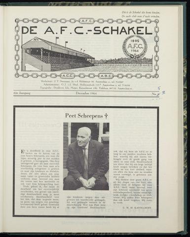 Schakels (clubbladen) 1964-12-01
