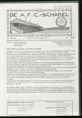 Schakels (clubbladen) 1976-06-16
