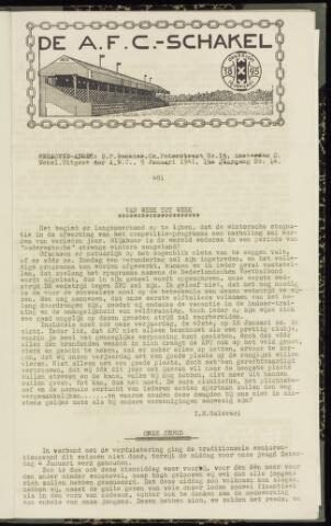 Schakels (clubbladen) 1941