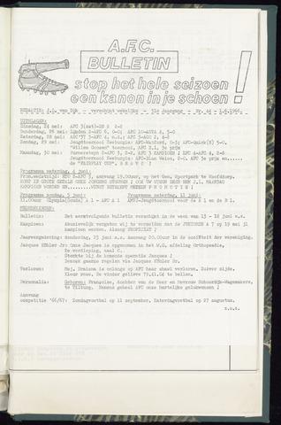 Bulletins (vnl. opstellingen) 1966-06-01