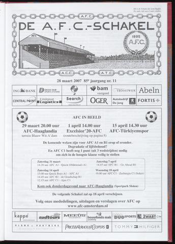Schakels (clubbladen) 2007-03-28