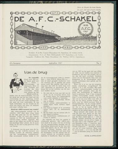 Schakels (clubbladen) 1967-09-01
