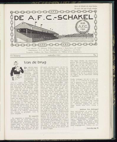 Schakels (clubbladen) 1963-09-01