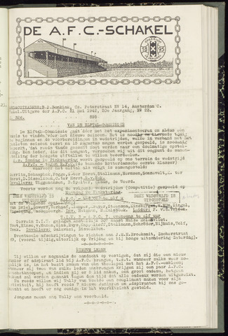 Schakels (clubbladen) 1942-05-21