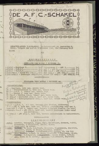 Schakels (clubbladen) 1941-11-06