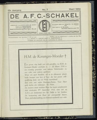 Schakels (clubbladen) 1934-03-01
