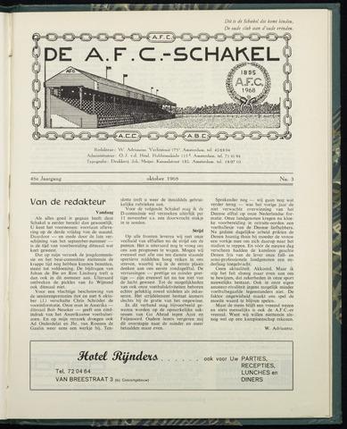 Schakels (clubbladen) 1968-10-01