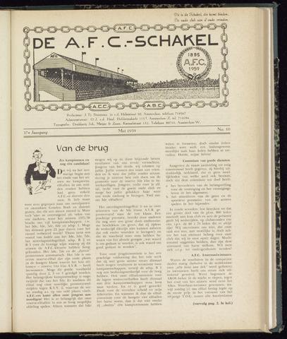 Schakels (clubbladen) 1959-05-01