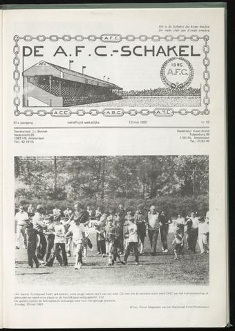 Schakels (clubbladen) 1981-05-13