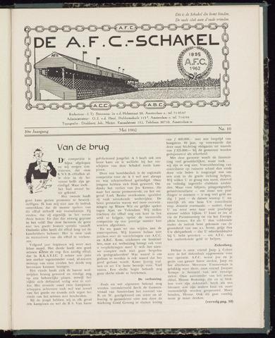 Schakels (clubbladen) 1962-05-01