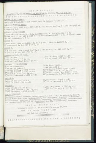 Bulletins (vnl. opstellingen) 1966-03-09