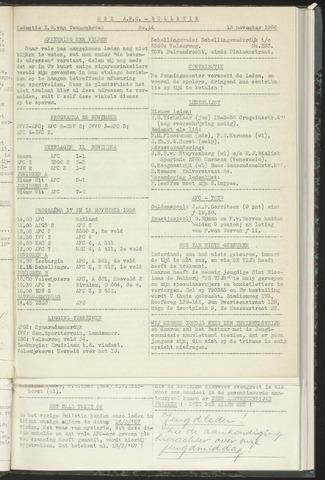 Bulletins (vnl. opstellingen) 1956-11-13