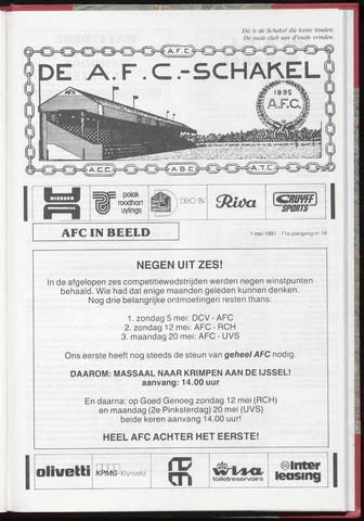 Schakels (clubbladen) 1991-05-01