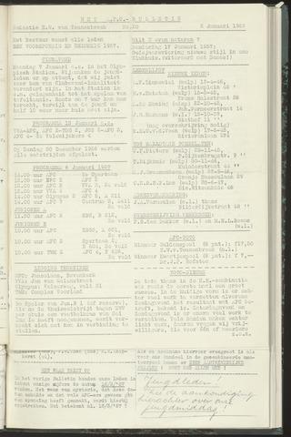 Bulletins (vnl. opstellingen) 1957-01-02