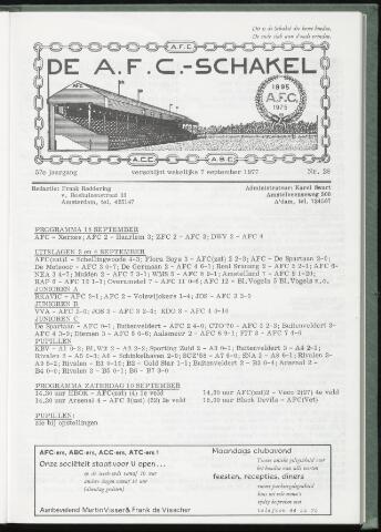 Schakels (clubbladen) 1977-09-07