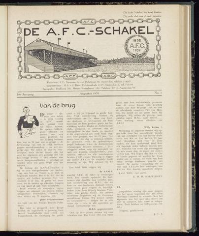 Schakels (clubbladen) 1959-08-01