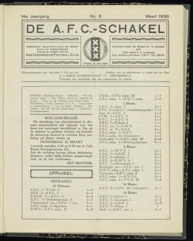 Schakels (clubbladen) 1936-03-01