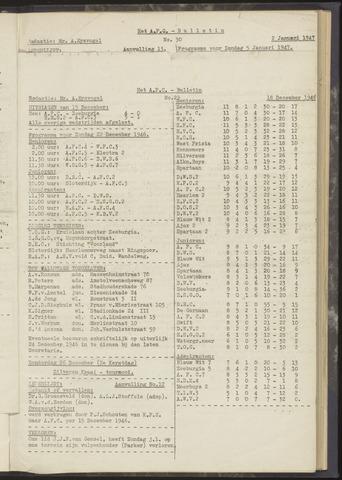 Bulletins (vnl. opstellingen) 1946-12-18