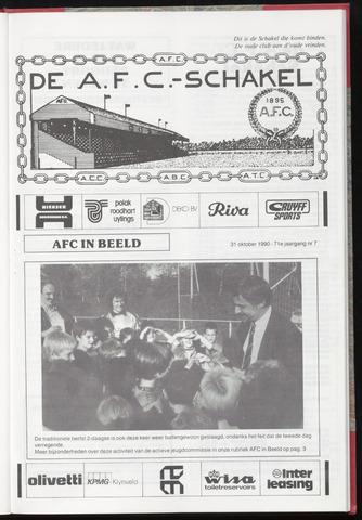 Schakels (clubbladen) 1990-10-31