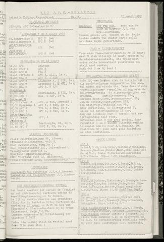 Bulletins (vnl. opstellingen) 1959-03-11