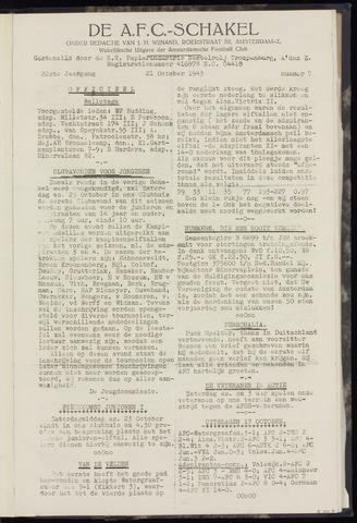 Schakels (clubbladen) 1943-10-21